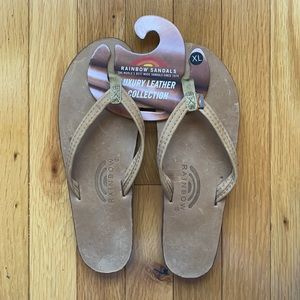 *NEW* Luxury Leather Collection Rainbow Sandals